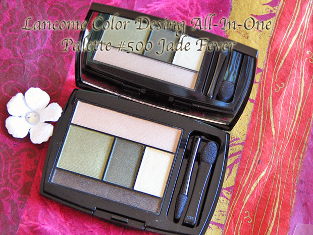 Lancome Jade Fever 500 Color Design All-In-One 5 Shadow and Liner Palette