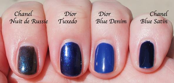 Blondycandy Blog Dior Tuxedo Nail Polish. Dior Fall ...