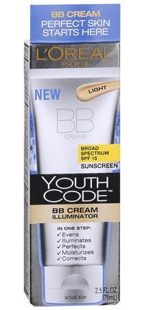 Loreal  Youth Code BB Cream Illuminator