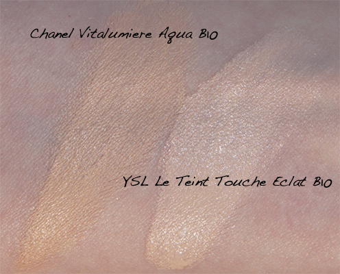 YSL Touche Eclate swatches