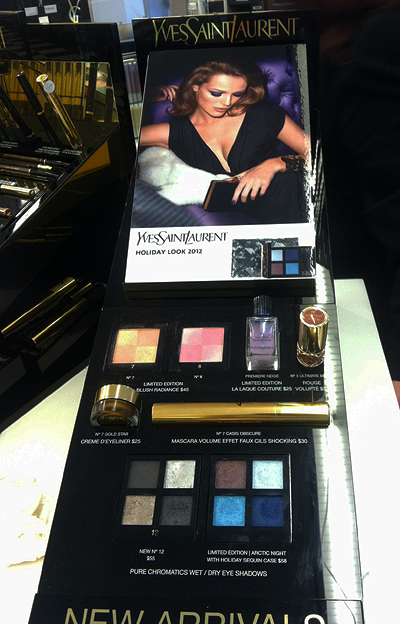 YSL Holiday 2012 Collection Northern Lights Display