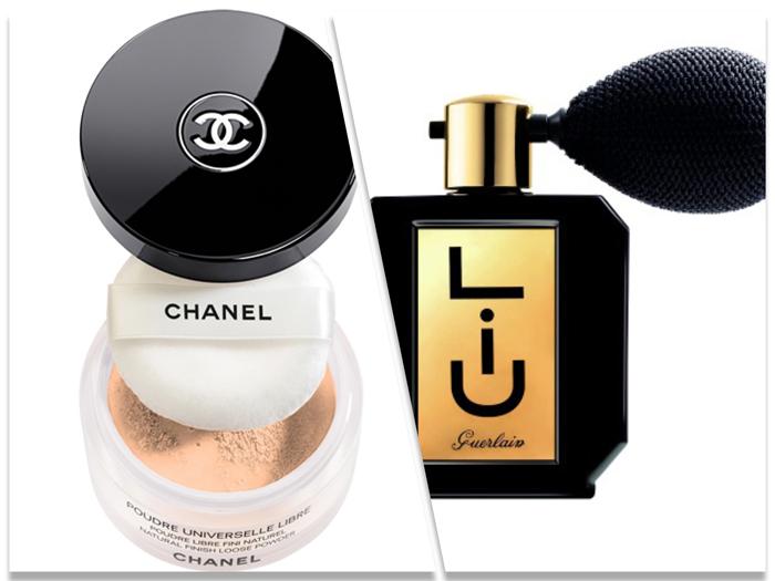 Chanel Universelle Libre Reverie. Guerlain Liu Shimmering Powder.