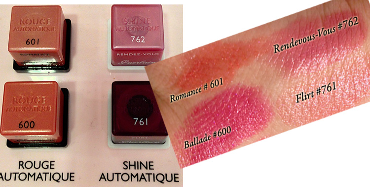 Guerlain Spring 2013 Rouge Automatique & Rouge Shine Automatique