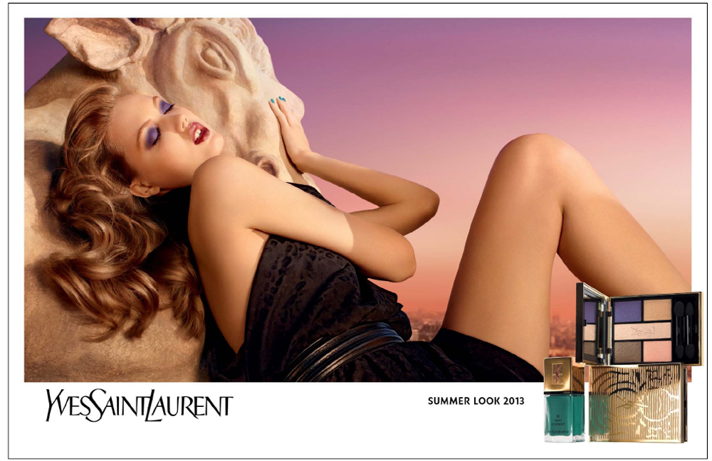 YSL Summer 2013 Makeup Collection Saharienne Heat