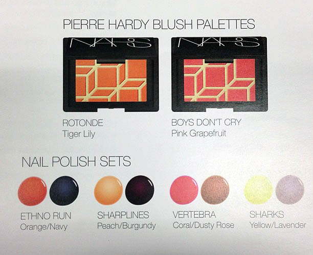 Nars Piere Hardy Collection