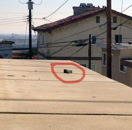 Лак на крыше