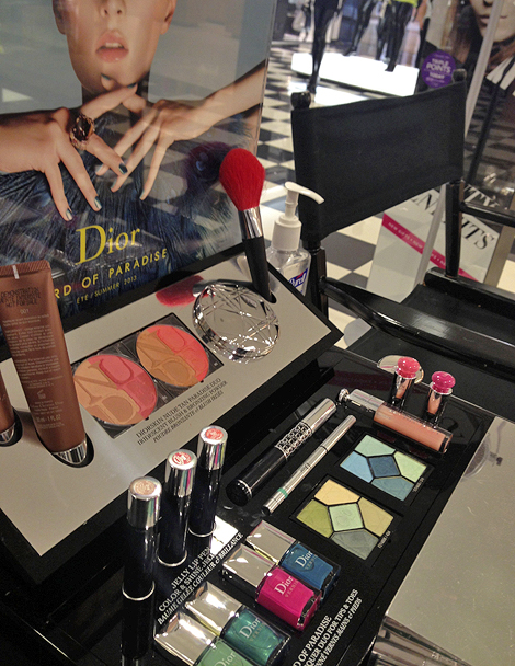 Dior Bird of Paradise Summer 2013 Makeup Collection