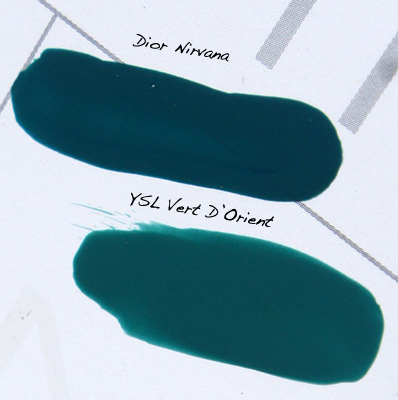 Dior Nirvana vs YSL Vert D'Orient