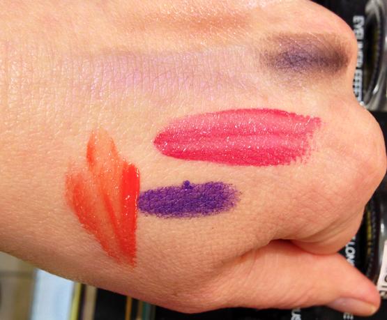YSL Summer 2013 Rouge Pur Couture Vernis a Levres Glossy Stain: #14 Fuchsia Dore, #31 Corail Alla Prima. Dessin du Regard Crayon Yeux Waterproof Violet Massa