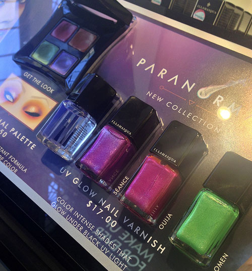 Illamasqua Paranormal UV Glow Nail Varnish