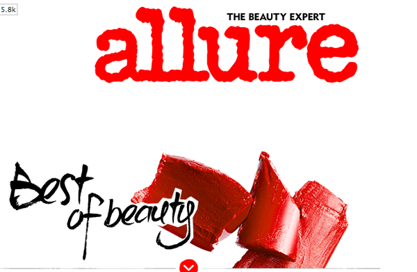 Allure Best of Beauty 2013