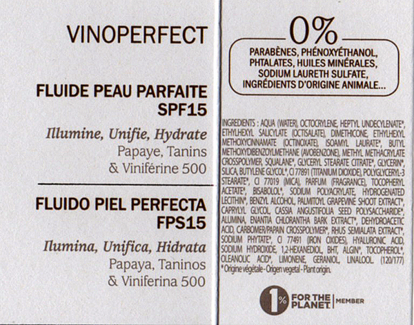 vinoperfect_spf15_ingredients