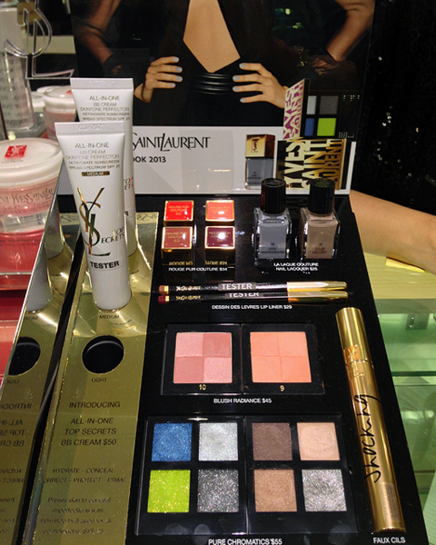 ysl fall 2013 makeup collection