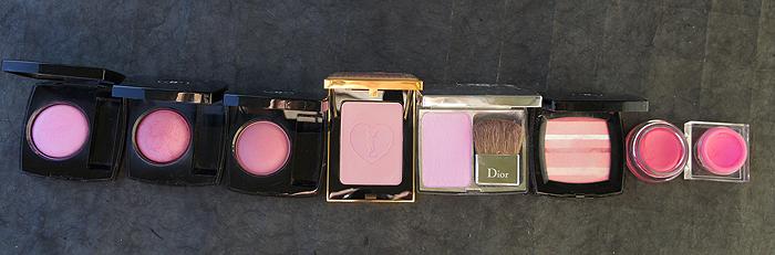 pink blushes