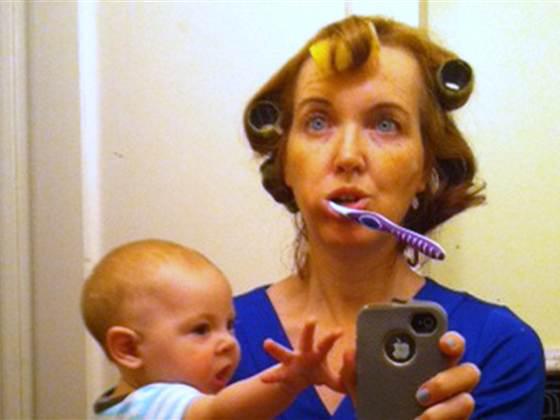 Вот так должна выглядеть настоящая мать!