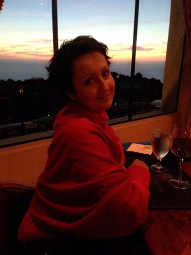 Моя подруга Катя сразу по прилете из Москвы