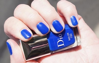 Dior Sailor Manicure Transat Nail Polish and Couture Stickers Duo